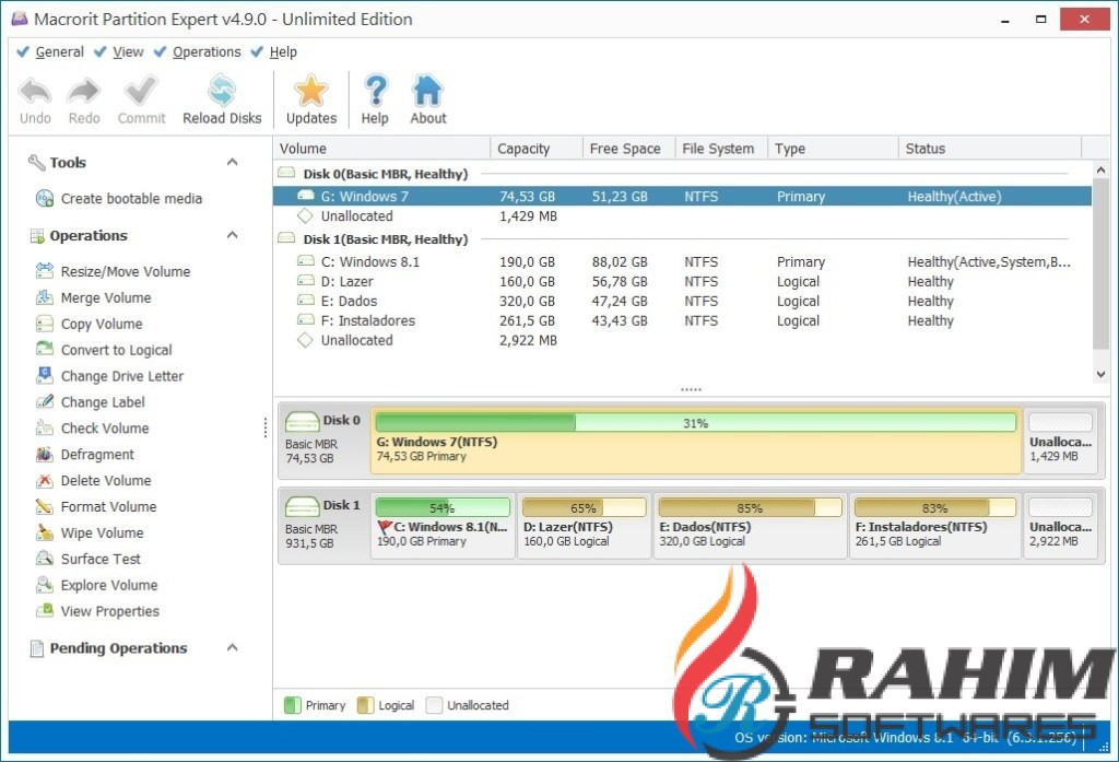 Disk Partition Expert Professional Edition Portable Free Download