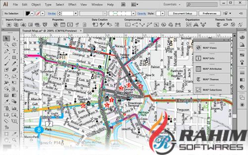 Download Avenza MAPublisher for Adobe Illustrator