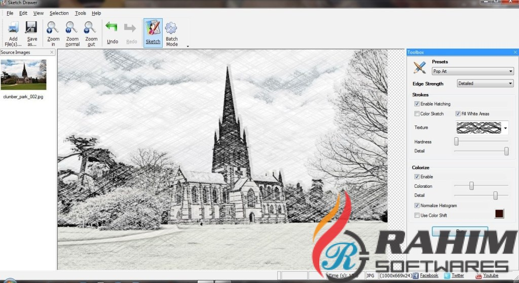 SoftOrbits Sketch Drawer Portable Free Download