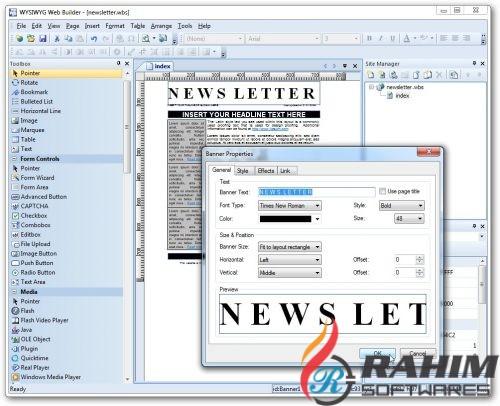 WYSIWYG Web Builder 12.5 Free Download