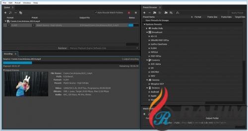 Adobe Media Encoder CC 2018 Portable Free Download