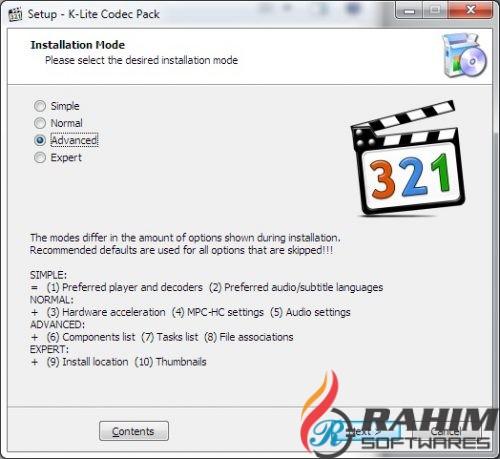 K Lite Mega Codec Pack 14.1 Free Download