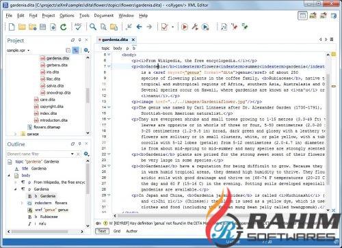 Oxygen XML Editor 20 Free Download