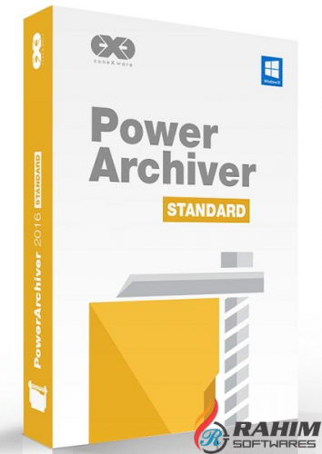 PowerArchiver 2018 Standard 18 Portable Free Download