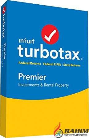 TurboTax Premier 2017 Free Download