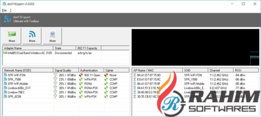 KC Softwares dot11Expert 1.2 Portable Free Download
