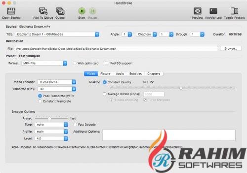 Titer HandBrake 1.0 Portable Free Download