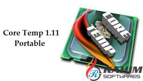 Core Temp 1.11 Portable Free Download
