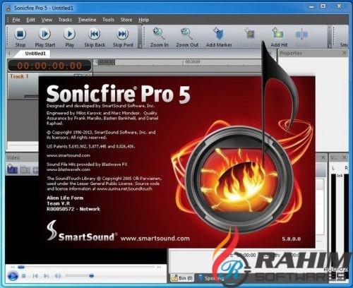 SmartSound Sonicfire Pro 6 Free Download