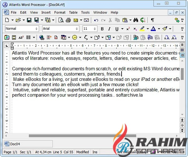 Atlantis Word Processor 3.2.4.0 Free Download