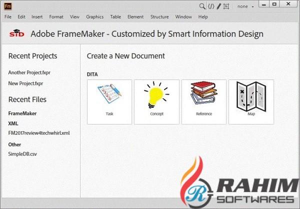 Adobe FrameMaker 2019 v15.0 Portable Free Download
