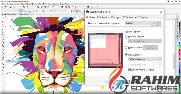 CorelDRAW Graphics Suite 2018 20.1 Portable Free Download
