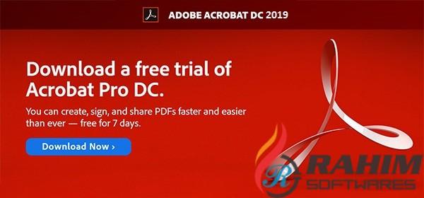Adobe Acrobat Reader DC 2019 v19 Free Download