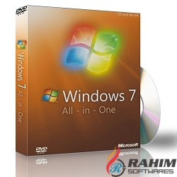 Windows 7 SP1 AIO October 2018 ISO Free Download