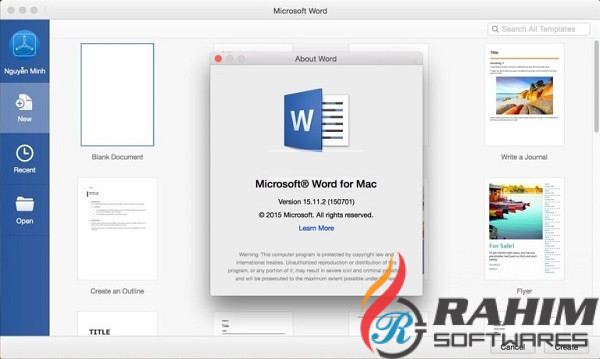 Office 2016 16.16.4 for Mac Free Download