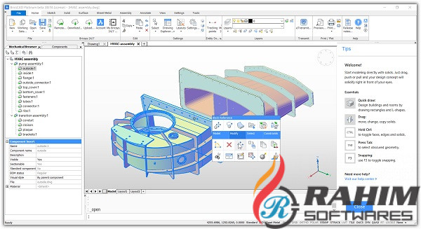 Brics CAD V19 download free
