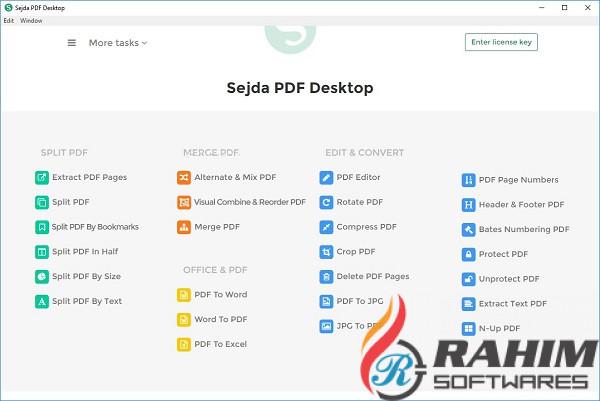 Sejda PDF Desktop 5.0 Download Free