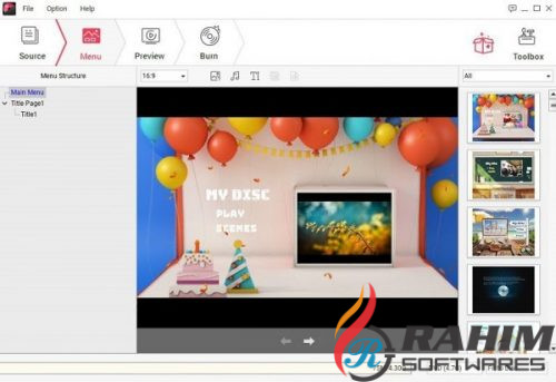 Wondershare DVD Creator 2019 v6.1 Free Download (2)