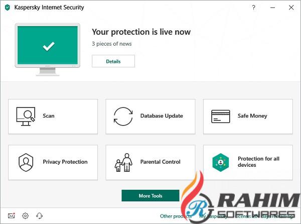 Kaspersky Internet Security 2019 Internet Protection