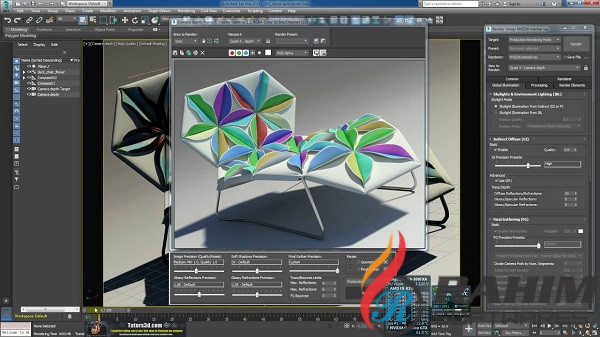 Mental Ray 3.14 for Maya 2017 Free Download (1)