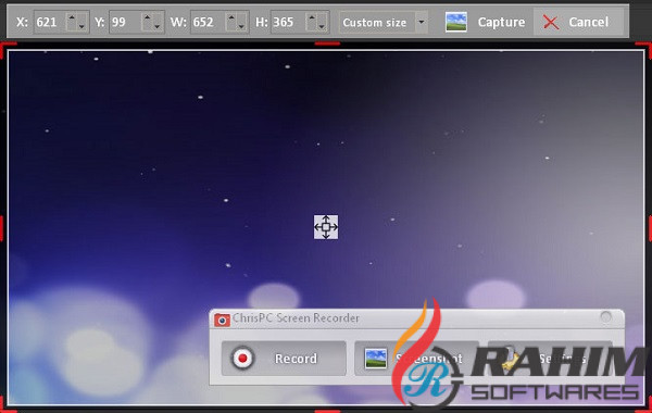 ChrisPC Screen Recorder 2018 1.6 Free Download