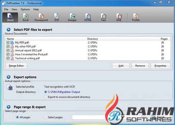 PdfGrabber Professional 9.0.0 Free Download (2)