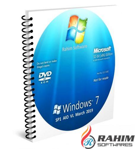Windows 7 SP1 AIO VL March 2019 Free Download (2)