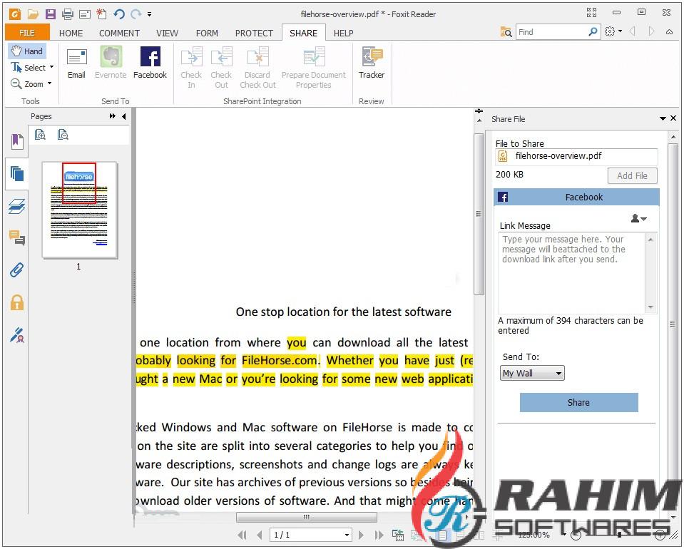 Download Foxit Reader 9.5.0 Build 20721 (x64 & x32)