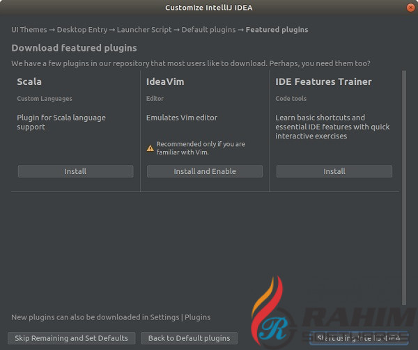 Download IntelliJ IDEA free latest version2