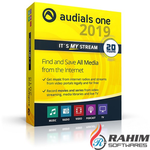 Download Audials One 2019 Free for PC