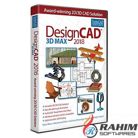 Download IMSI DesignCAD 3D Max 2018 Free