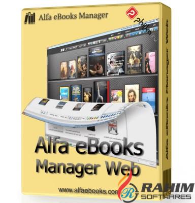 Alfa eBooks Manager Web 8.1 Portable Free Download