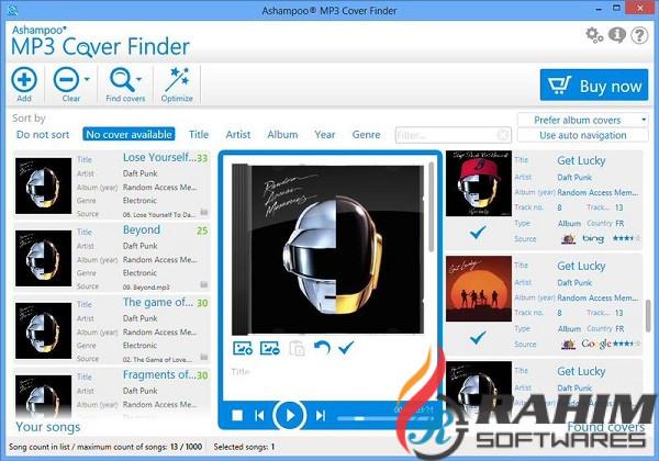 Download Ashampoo MP3 Cover Finder e1.0 Free