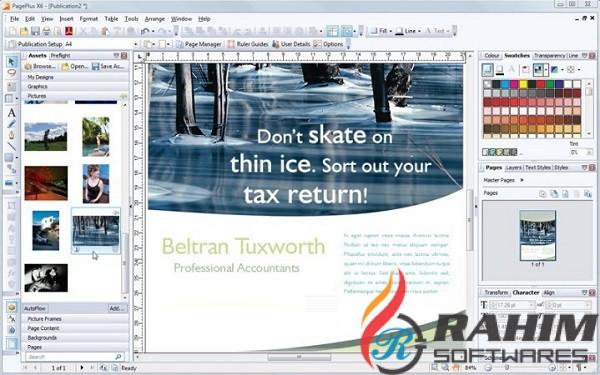 Download Serif PagePlus X6 free full