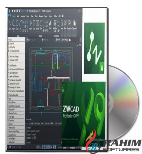 Download ZWcad architecture 2019 SP2 Free