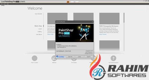 Corel PaintShop Pro 2020 x86-x64 Free Download