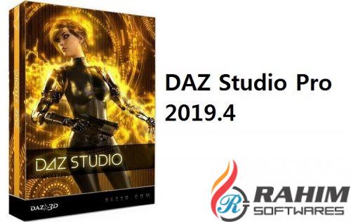 DAZ Studio Pro 2019 v4.11 Free Download 32-64 Bit