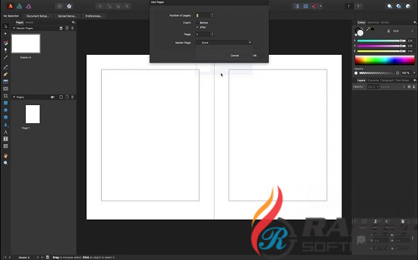 Download Serif Affinity Publisher 1.7 Free