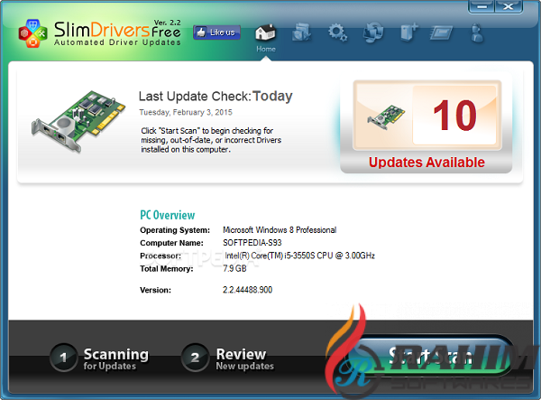 Download SlimDrivers 2.2.4 Free