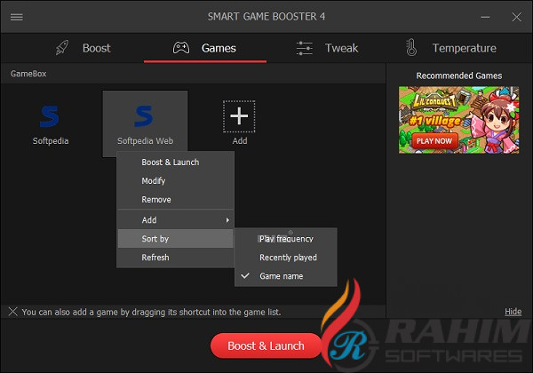 Download Smart Game Booster 4.1 Free