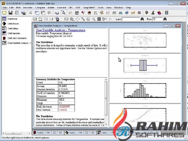 Download Statgraphics Centurion 18.1 Free