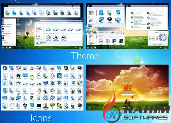 Download Windows 7 Aero Blue Edition 2016 Free