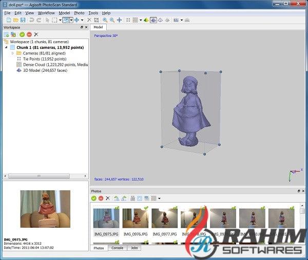 Agisoft Metashape Pro 1.5.5 Free Download