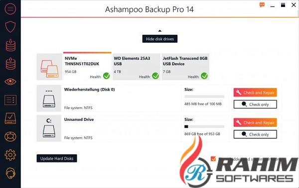 Ashampoo Backup Pro 14.14 Free Download