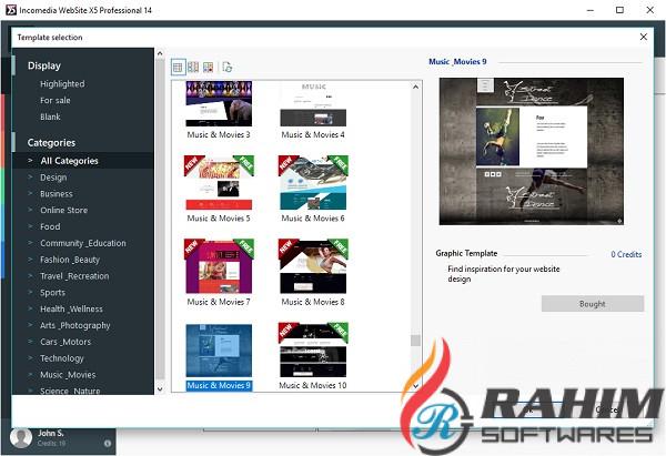 Incomedia WebSite X5 Evolution 13 Free Download