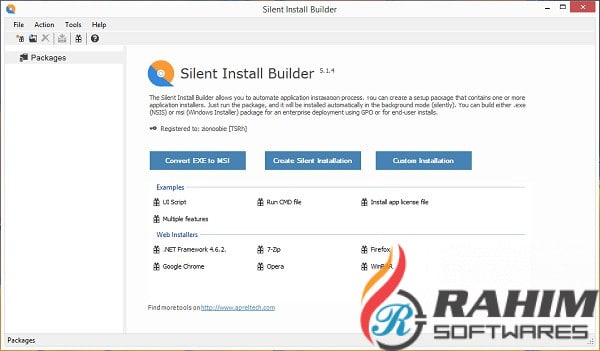 Silent Install Builder 6.0 Free Download