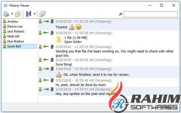 Softros Lan Messenger 9 Free Download