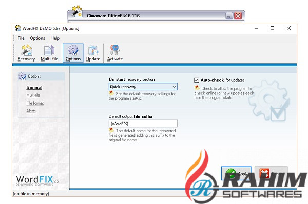 Cimaware OfficeFIX Professional 6.126 Portable Free Download