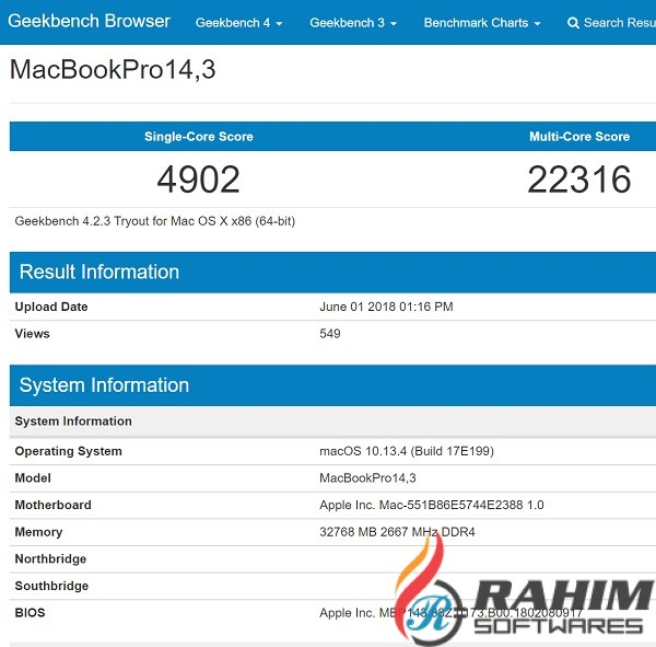 Geekbench 5.0.3 Pro Portable Free Download