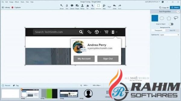 Snagit 2020 Portable Free Download